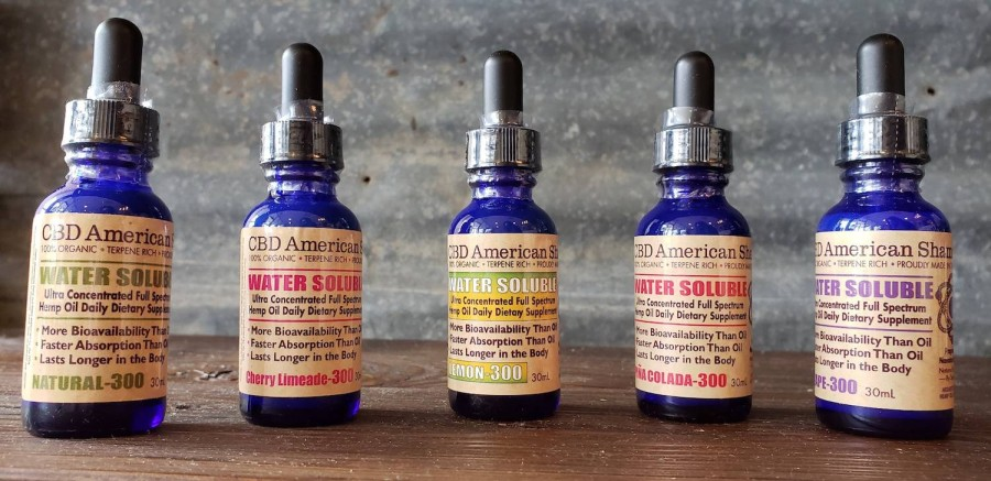 CBD American Shaman offers organic CBD products, including water-solubles, gummies, pain creams and lotions. (Courtesy CBD American Shaman)