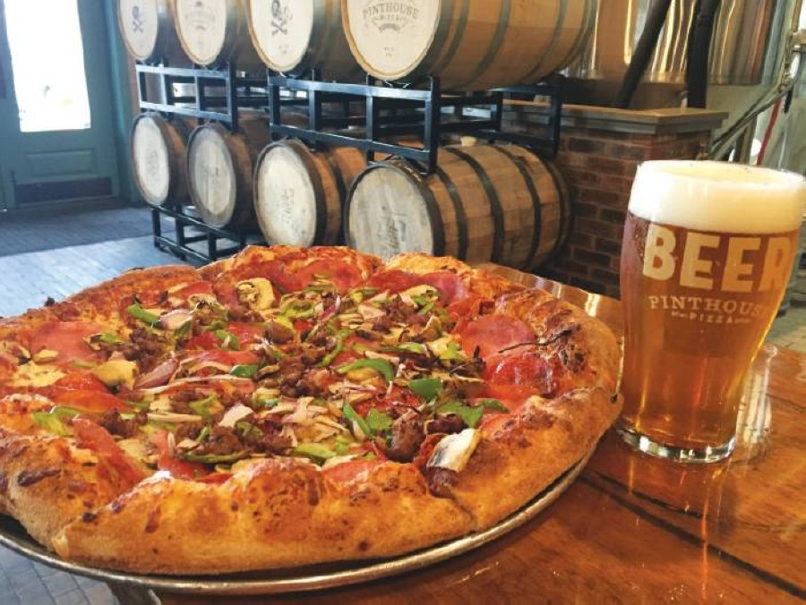 Pinthouse Pizza has begun hiring for its future taproom and restaurant in Southeast Austin. (Courtesy Pinthouse Pizza)