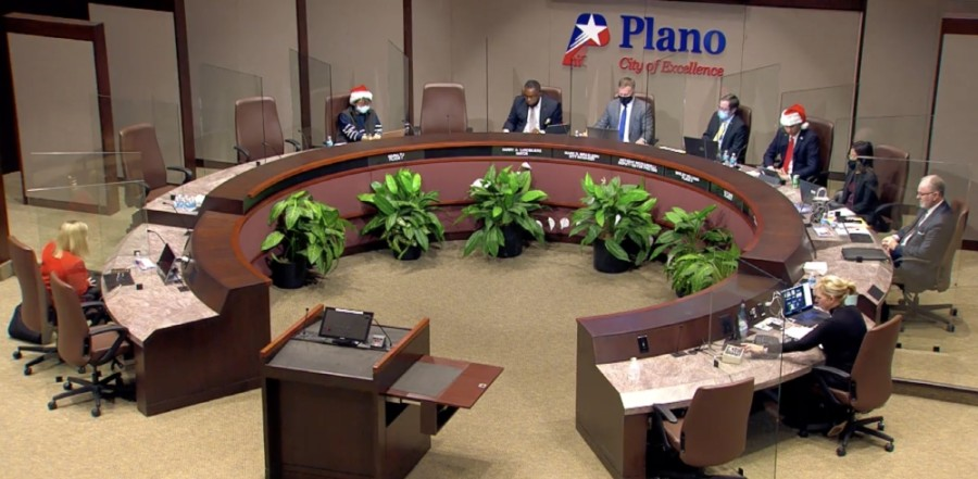 Plano City Council approved a zoning change for Plano Market Square Mall that is tied to the planned redevelopment of the site. (Screenshot courtesy city of Plano)