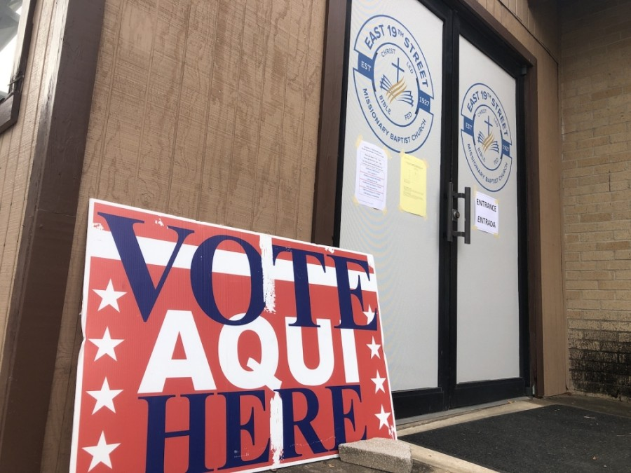 Polling locations across Travis County were open Dec. 15 for local runoff elections, including two elections in Austin ISD. (Jack Flagler/Community Impact Newspaper)