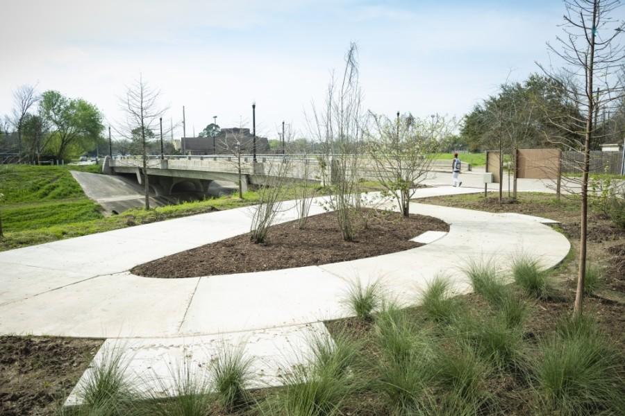 Sims Bayou Greenway natural lanscaping