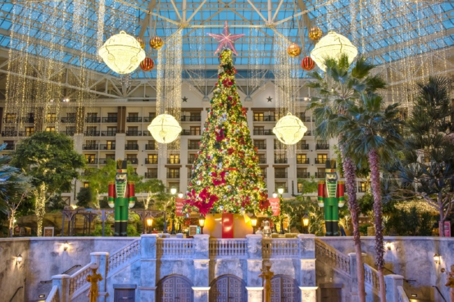 The Gaylord Texan Resort in Grapevine is hosting its Lone Star Christmas event through Jan. 3. (Courtesy Gaylord Texan Resort)