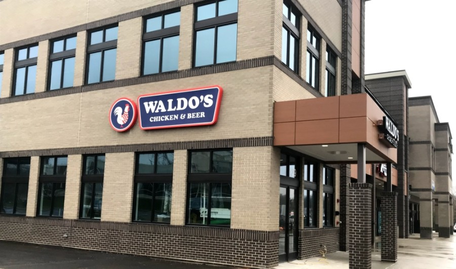 Waldo's Chicken & Beer is slated to open in January. (Wendy Sturges/Community Impact Newspaper)