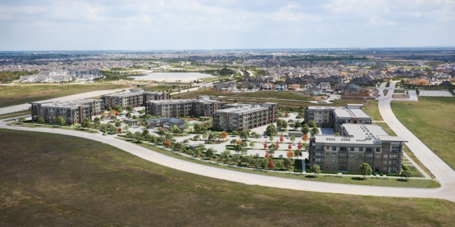 Starling at Bridgeland is slated to open by summer 2022. (Rendering courtesy The Howard Hughes Corp.)