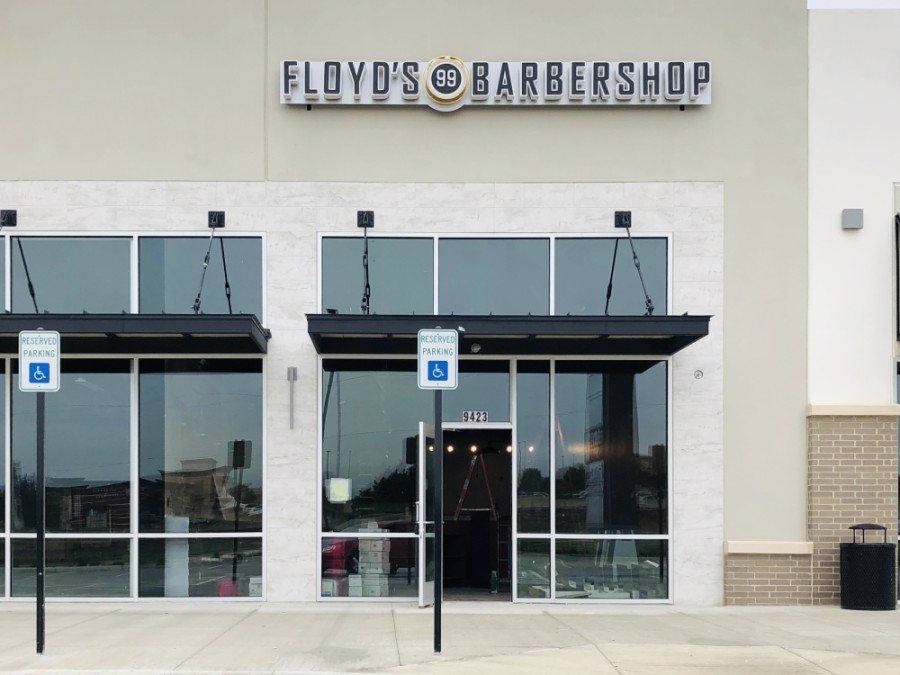 Floyd's 99 Barbershop locations offer a range of hair services. (Ian Pribanic/Community Impact Newspaper)