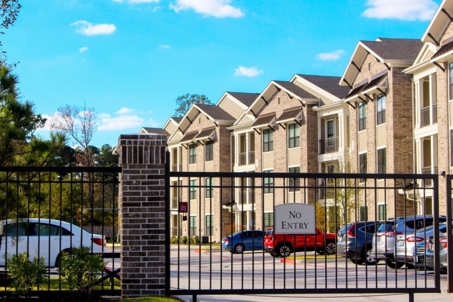 Fordham at Eagle Springs officials said attracting tenants during the pandemic has been challenging. (Kelly Schafler/Community Impact Newspaper)