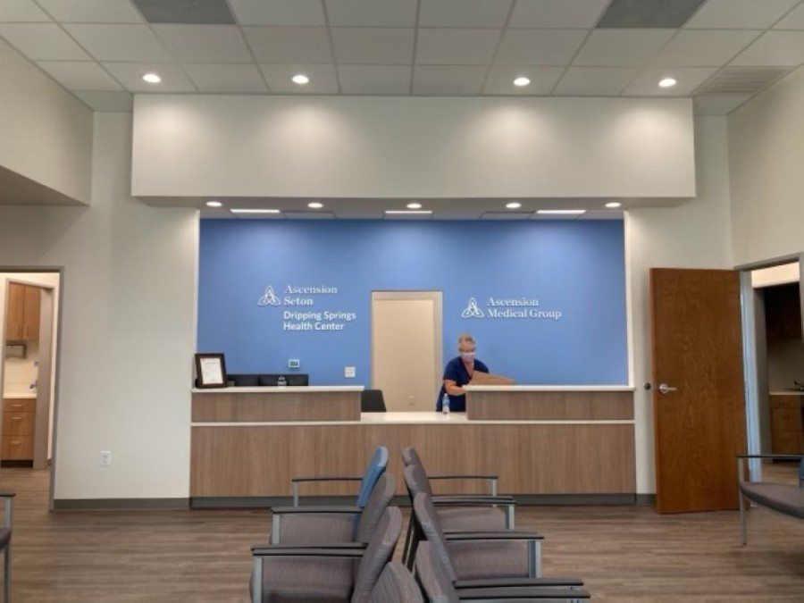 Ascension Seton Dripping Springs Health Center is a primary care office, and more services will be introduced in the future. (Courtesy Ascension Seton Dripping Springs Health Center)
