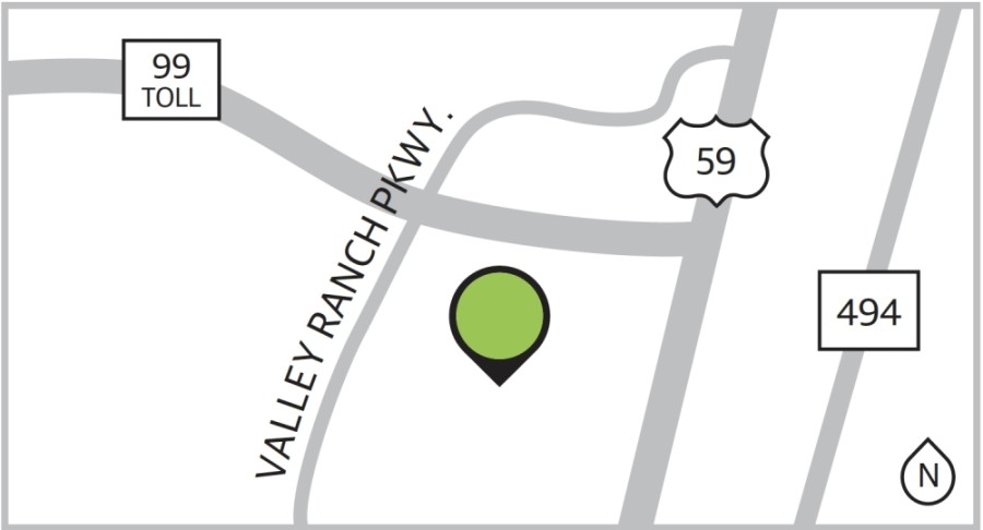 Valley Ranch is part of a master-planned community with 694 single-family properties.