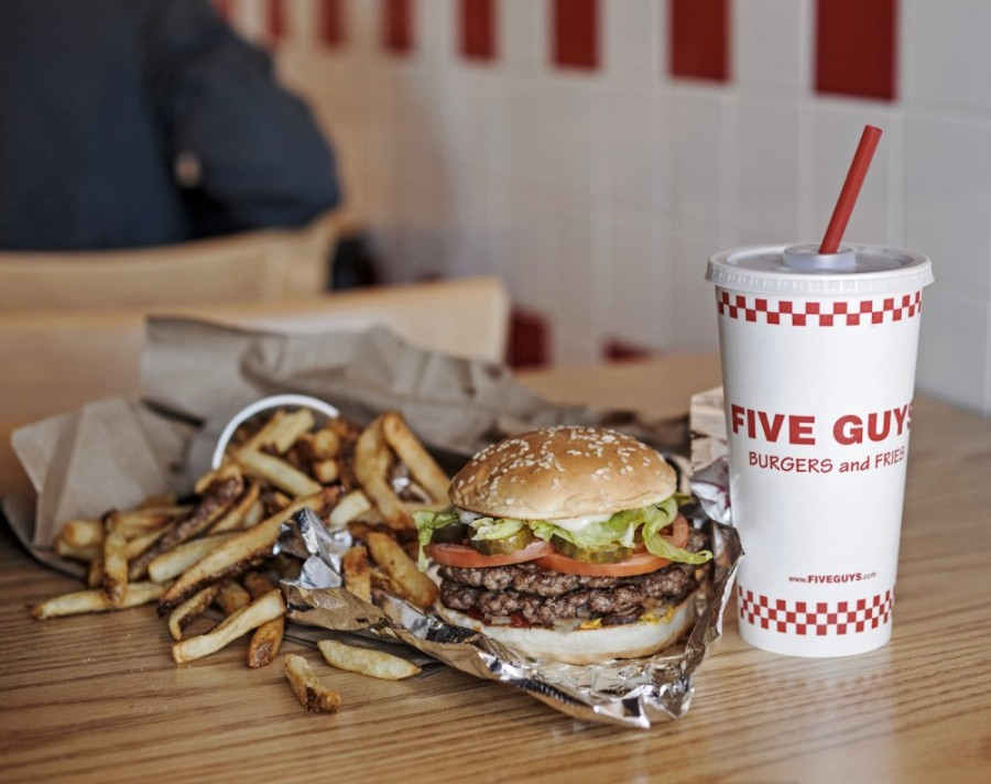 A Five Guys Burgers and Fries location in Southlake Town Square closed in December. (Courtesy Five Guys Burgers and Fries)