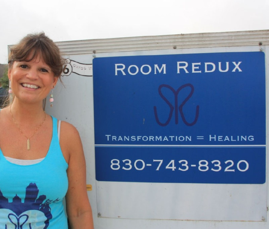 Room Redux CEO Susie Vybiral founded the nonprofit in 2018. (Lauren Canterberry/Community Impact Newspaper)