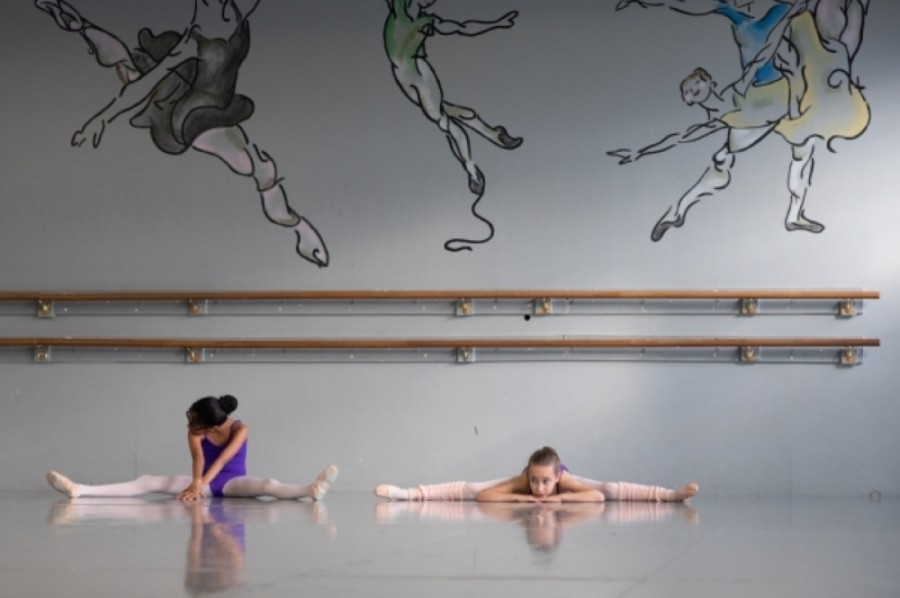Hathaway Academy of Ballet is all about the fundamentals and principles of ballet technique, according to Kirt Hathaway, who runs the studio with his wife, Linda. (Liesbeth Powers/Community Impact Newspaper)