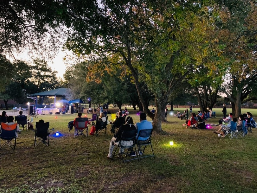 Lake Church recently celebrated at a socially distant Gospel at the Park event. (Courtesy Lake Church)