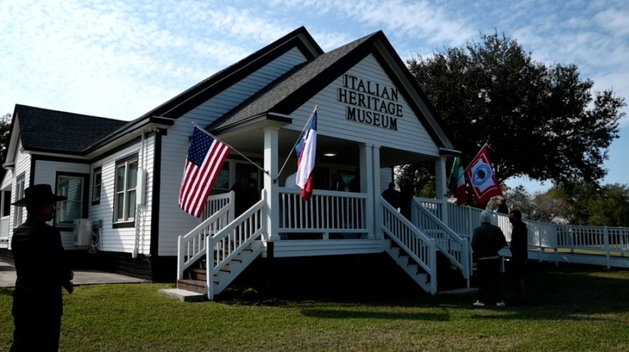 Italian Heritage Museum opened in December. (Courtesy city of League City)