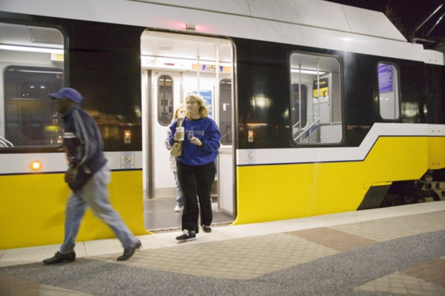 More information on Dallas-area transit schedules can be found online. (Courtesy Dallas Area Rapid Transit)