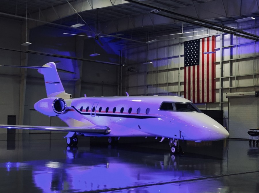 Gulfstream Aerospace Corp. announced plans Feb. 20 to construct a $35 million aircraft maintenance facility. (Ian Pribanic/Community Impact Newspaper)