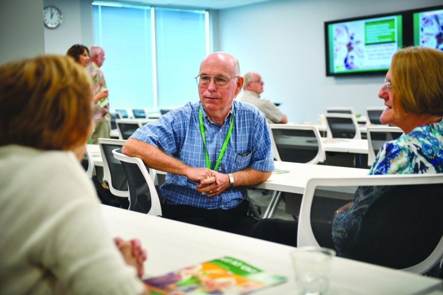 The Osher Lifelong Learning Institute at UNT is a program for those age 50 and older, featuring virtual courses, events and special interest groups. (Courtesy Michael Clements/University of North Texas)