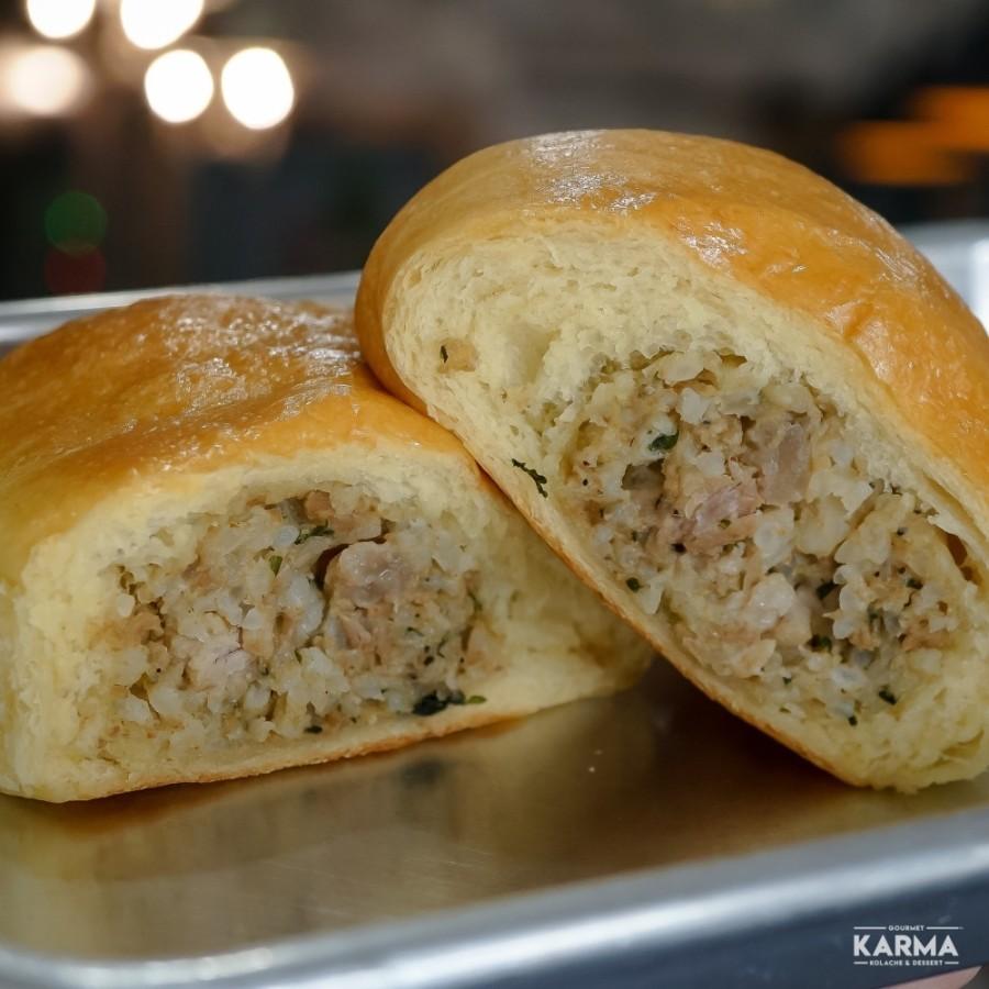 Karma Kolache specializes in gourmet kolaches and doughnuts. (Courtesy Karma Kolache)