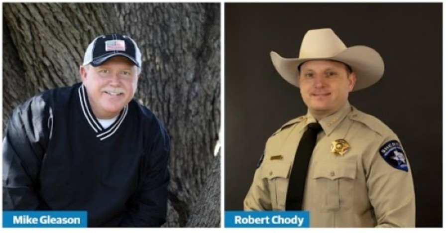 Williamson County Sheriff Robert Chody and his opponent, now-Sheriff-elect Mike Gleason, appeared on the Nov. 3 ballot. (Community Impact staff)