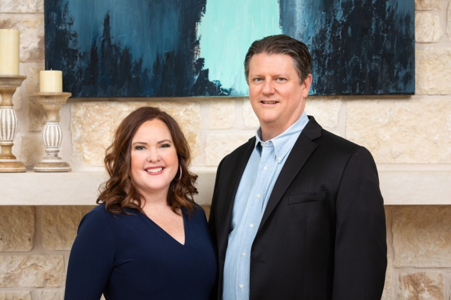 Blue Water Homecare was launched by Jennifer and Travis Prescott in 2017. (Courtesy Blue Water Homecare)