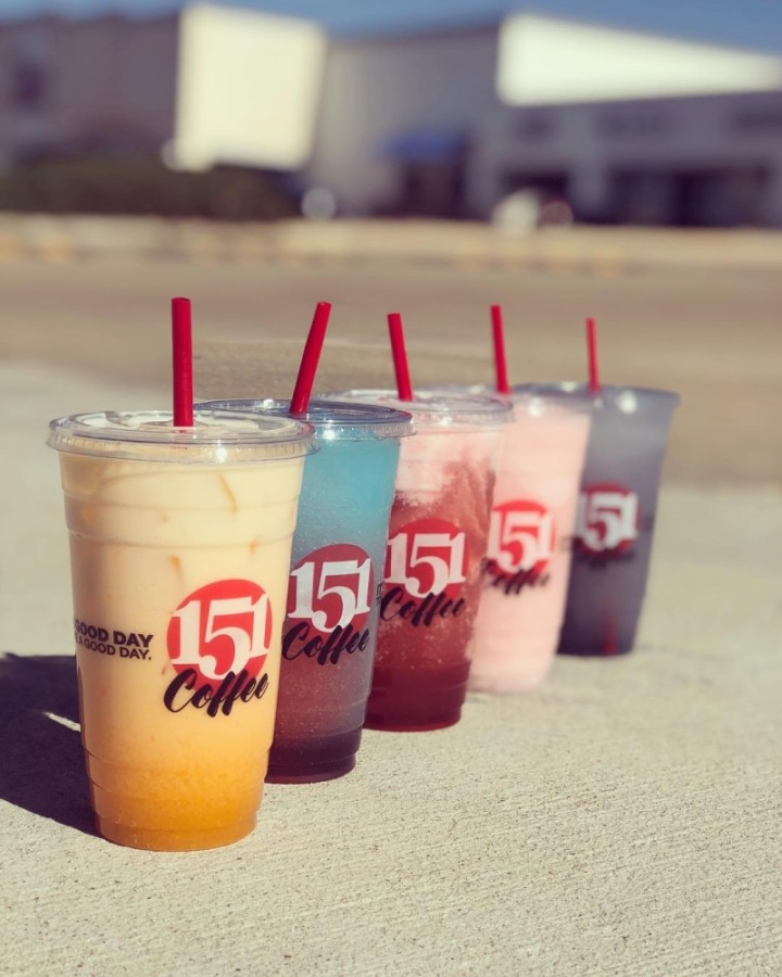 A 151 Coffee location opened in late 2020 at 9301 N. Freeway, Fort Worth.