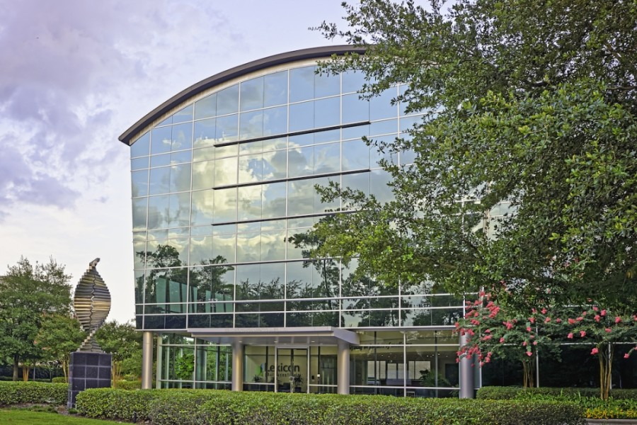 Lexicon Pharmaceuticals plans to relocate its headquarters in The Woodlands following the December sale of its corporate campus in Research Forest. (Courtesy NAI Partners)
