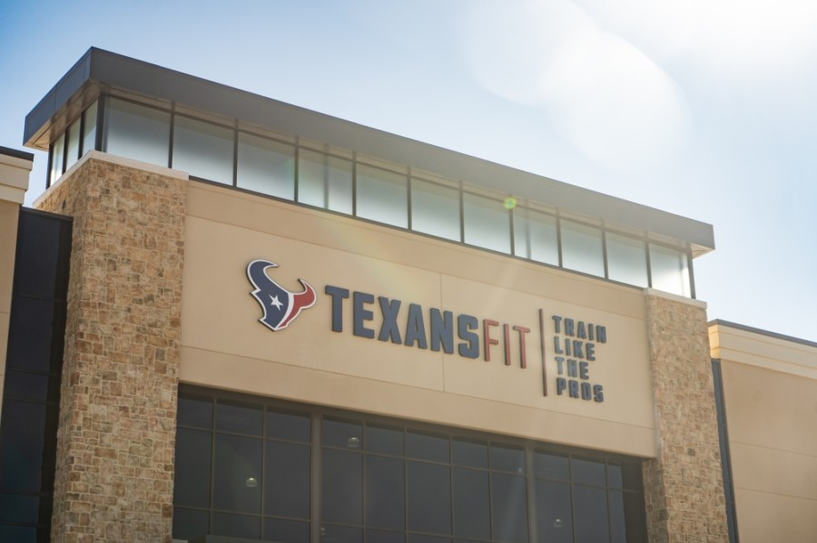 Texans Fit will bring a new gym to Meyerland Plaza this spring. (Courtesy Houston Texans)
