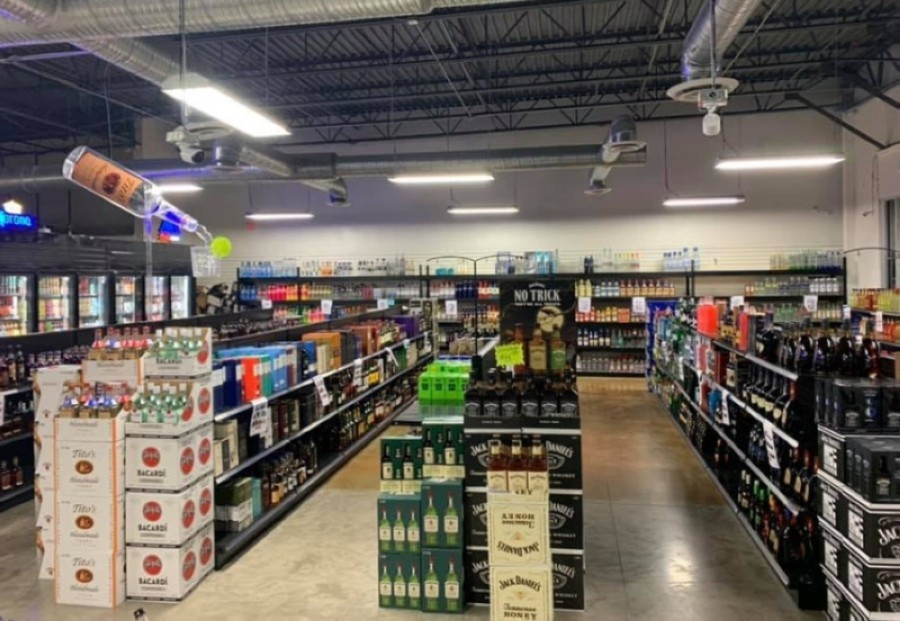 The liquor store opened in Plano in the fall of 2020. (Courtesy Sam's Liquor Warehouse)