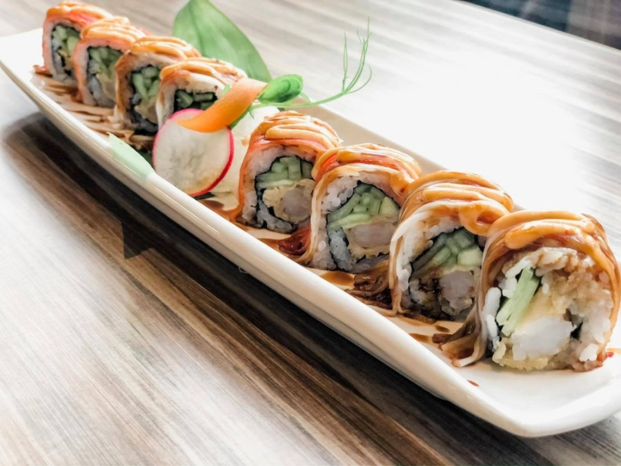 Two additional tenants have come to Metropark Square, including Top Sushi, which is slated to open this month. (Courtesy Top Sushi)