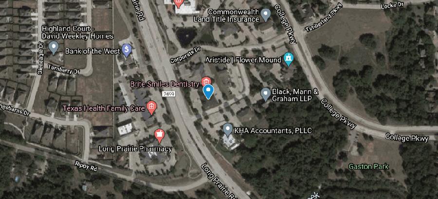 Eye Associates of Texas opened Nov. 9 in Flower Mound. (Screenshot from Google Maps)