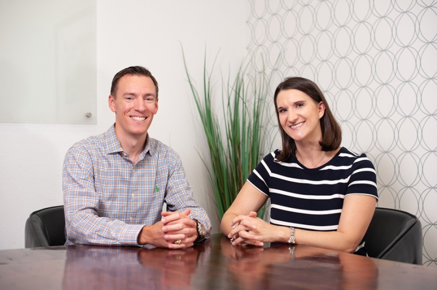 Lance and Tessa Elrod own and operate Next Step Financial Transitions. (Courtesy Next Step Financial Transitions)