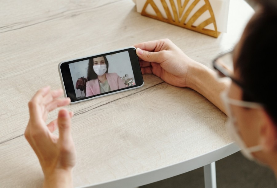 The University of St. Thomas is offering free mental health counseling to teachers through a telehealth platform. (Courtesy Pexels)