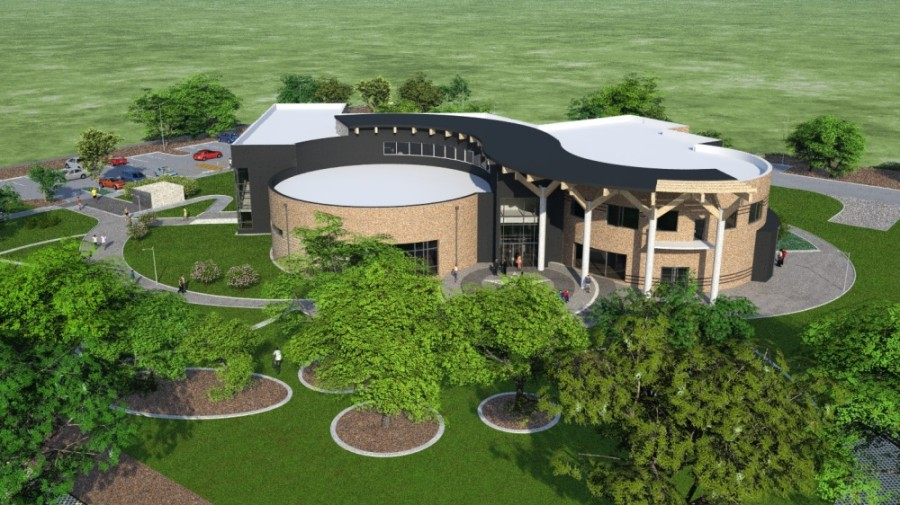 Design work finished in 2020 on a new City Hall for the City of Jersey Village, which will be located within the upcoming Village Center. Construction is expected to begin in 2021. (Courtesy Collaborate Architects)