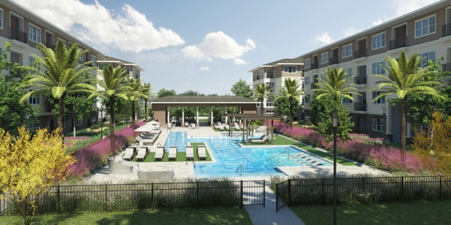 Construction on 312 multifamily units is set to begin in the first quarter of 2021. (Courtesy Reger Holdings LLC)