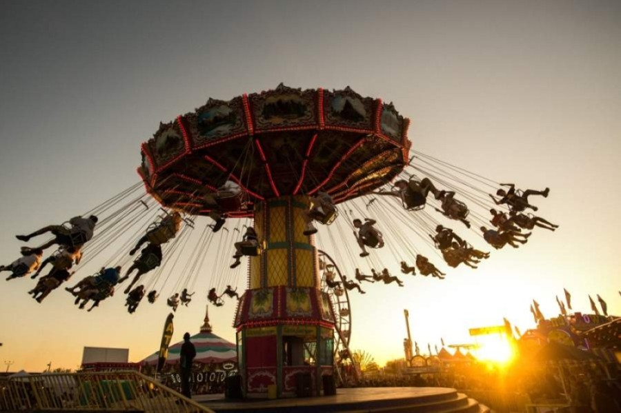 The Chandler Chamber of Commerce announced Jan. 8 that the Chandler Chamber Ostrich Festival will be postponed. (Courtesy Steve LeVine Entertainment & Public Relations)
