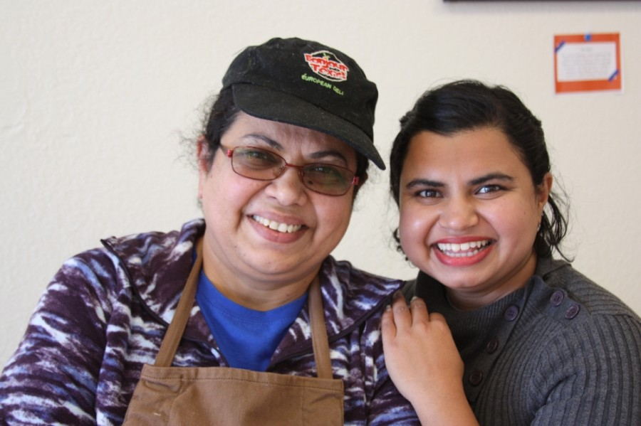 Rashmi Bhat and her mother Neeta Bhat have worked together since 2014. (Lauren Canterberry/Community Impact Newspaper)