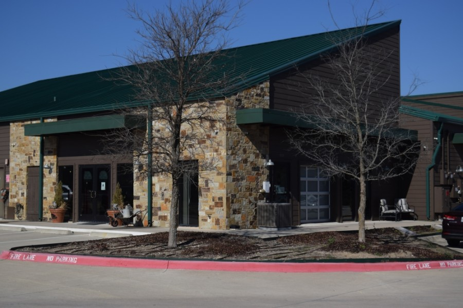 The Olive Branch, the soon-to-be headquarters of McKinney Little Free Pantry, will open in January at 2000 N. McDonald St., McKinney. (Matt Payne/ Community Impact Newspaper)