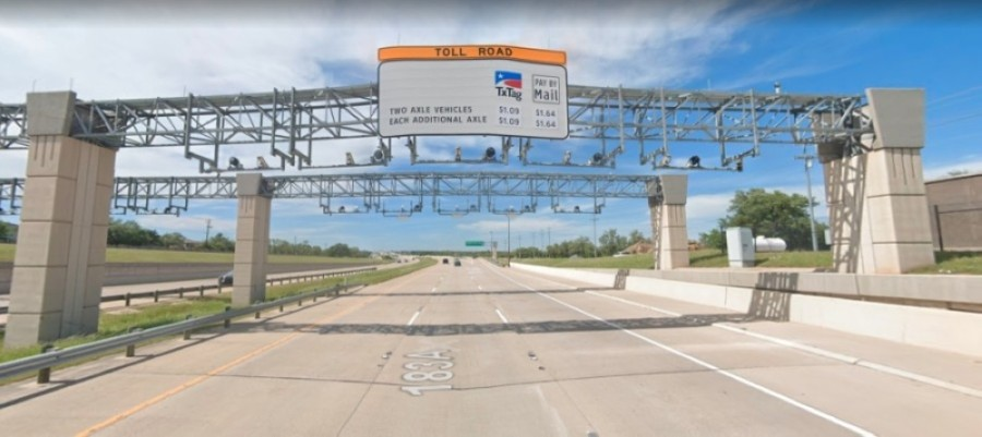 Work on a $743 million toll project along US 183 in East Austin is set to finish in February, while construction will start on separate projects along the northern stretch of the highway later in 2021. (Courtesy Google Maps)