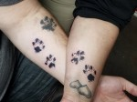 Based in Kyle, Bold Lines Tattoo Studio donates proceeds from certain tattoos to an animal shelter. (Courtesy Bold Lines Tattoo Studio)