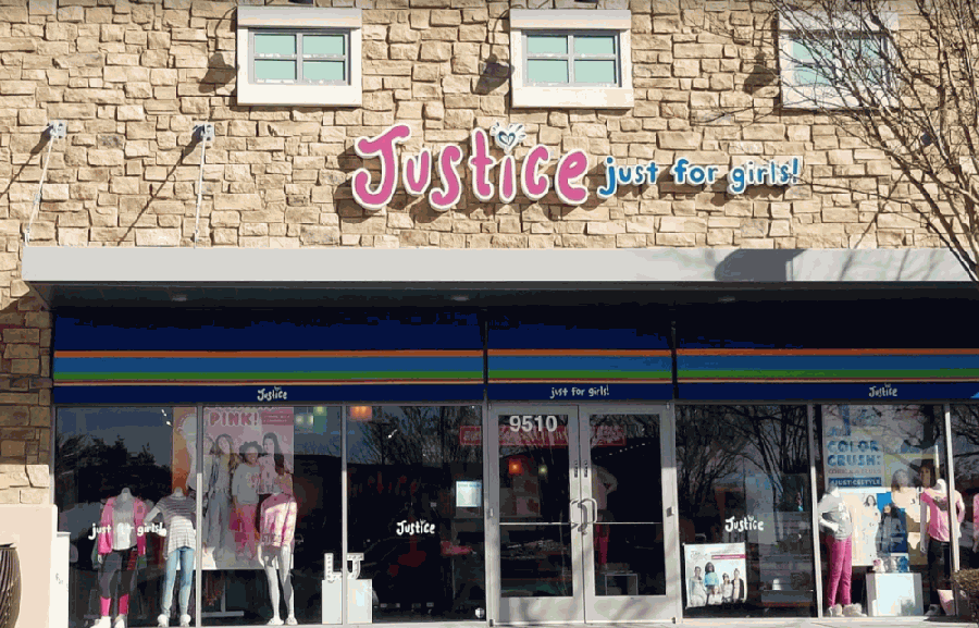 Formerly located at Alliance Town Center, Justice, a clothing and accessories store, permanently closed in December. (Courtesy Google)
