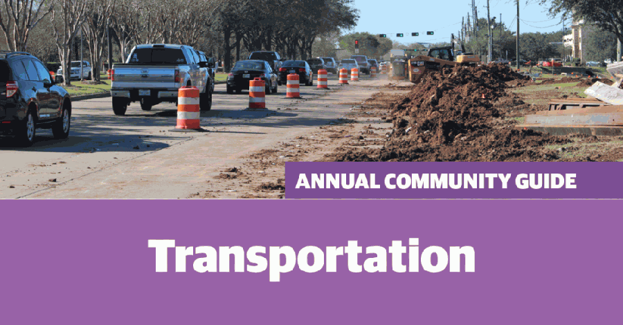 Crews are working to expand Hwy. 6 through Sugar Land. (Claire Shoop/Community Impact Newspaper)