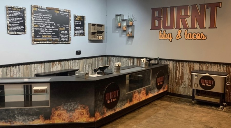 Burnt BBQ & Tacos' menu offers several different barbecue and taco options. (Courtesy Burnt BBQ & Tacos)