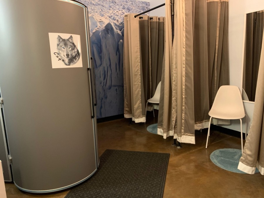 Cryotherapy, which is used to reduce inflammation, is known to help with pain, weight loss, sleep and more. (Courtesy Cryo @ Wolf)