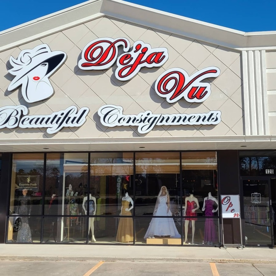 De'ja Vu Beautiful Consignments held a grand opening at 13080 Hwy. 105, Conroe, on Jan. 9. (Courtesy De'ja Vu Beatiful Consignments)