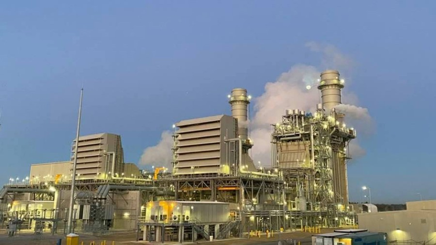 The new plant was completed ahead of schedule. (Courtesy Entergy Texas)