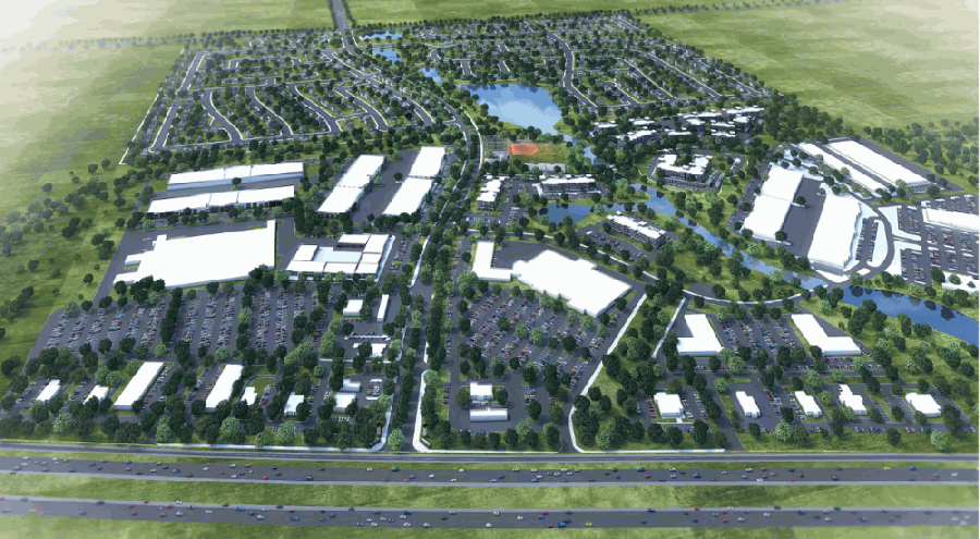 Officials said Beacon Hill will help spur future growth in the city of Waller and in the surrounding area. (Rendering courtesy Wolff Companies)