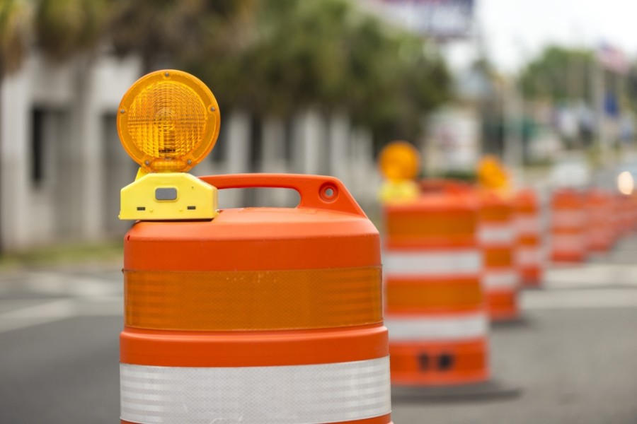 The project in San Marcos began in November with the intent to improve the intersection's safety for pedestrians and cyclists. (Courtesy Adobe Stock)