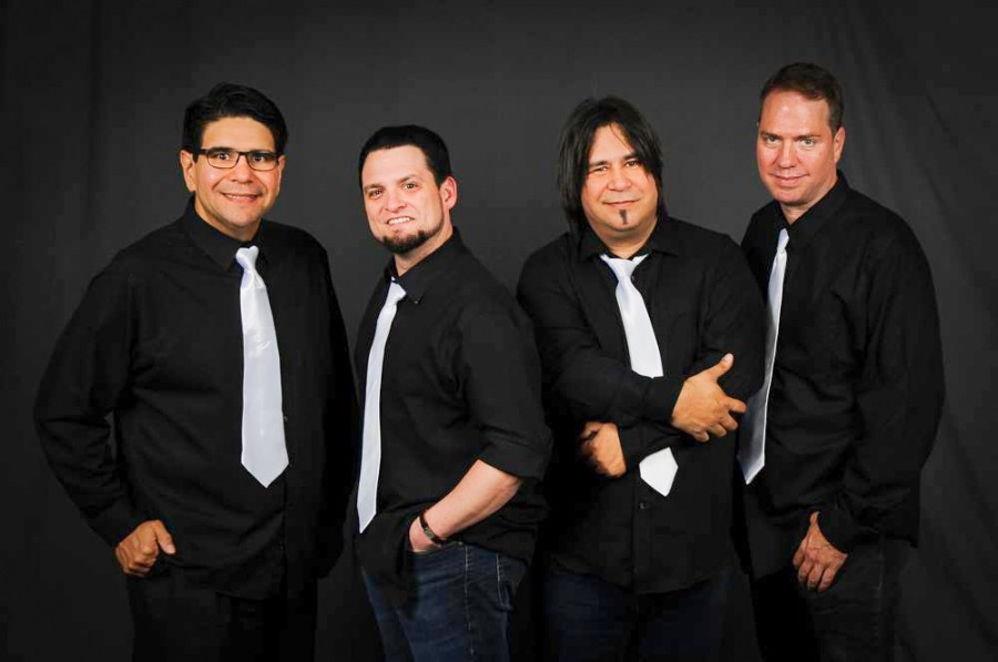 Vertigo, a 1980s tribute and cover band, performs live renditions of classic tunes. The band will perform at Mahoney's Texish Bar on Jan. 30. (Courtesy Vertigo)