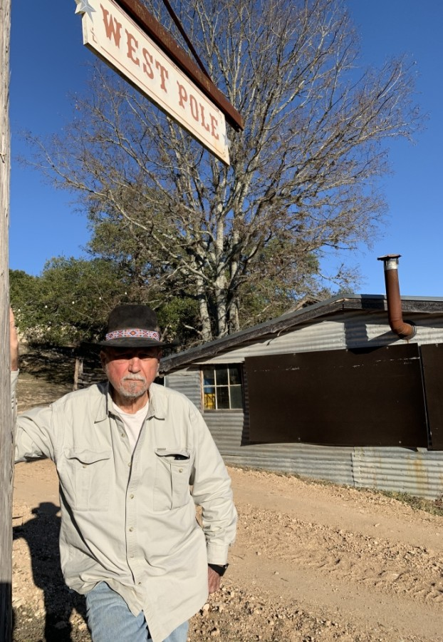 Terry Boothe, pictured here at his West Pole ranch in Bee Cave, said Armadillo Day helps to preserve Texas heritage. (Greg Perliski/Community Impact Newspaper)
