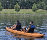 Kayak lessons are offered Fridays in February. (Courtesy The Woodlands Township)