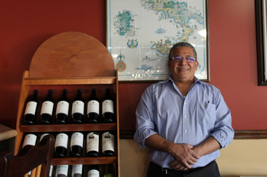Owner Miguel Segovia took over the Jones Road location of Luigi's Ristorante Italiano in 2007. (Shawn Arrajj/Community Impact Newspaper)
